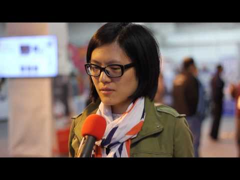 Olympiad Tromsø 2014 - A quick chat with Hou Yifan