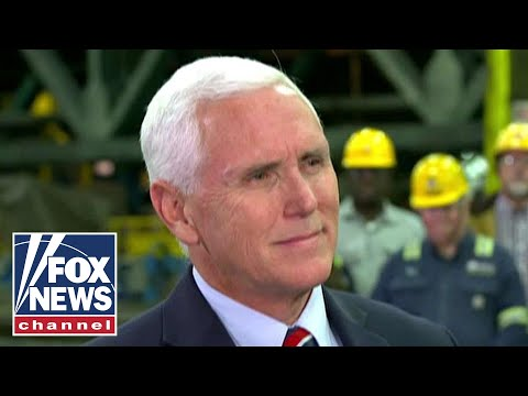 Pence goes one-on-one with Hegseth in St. Paul, Minnesota