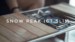 Snow Peak IGT Slim Unboxing | …