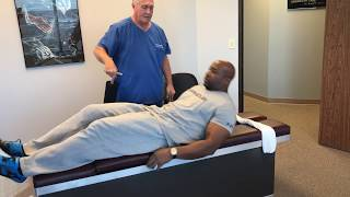 Huge Former Defensive End Adjusted By Your Houston Chiropractor Dr Gregory Johnson