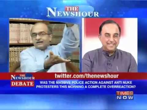 Subramanian Swamy on Kudankulam Nuclear Power Plant Battleground