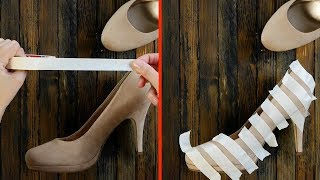 Эти лайфхаки для обуви должен знать каждый. №6 - просто чудо!