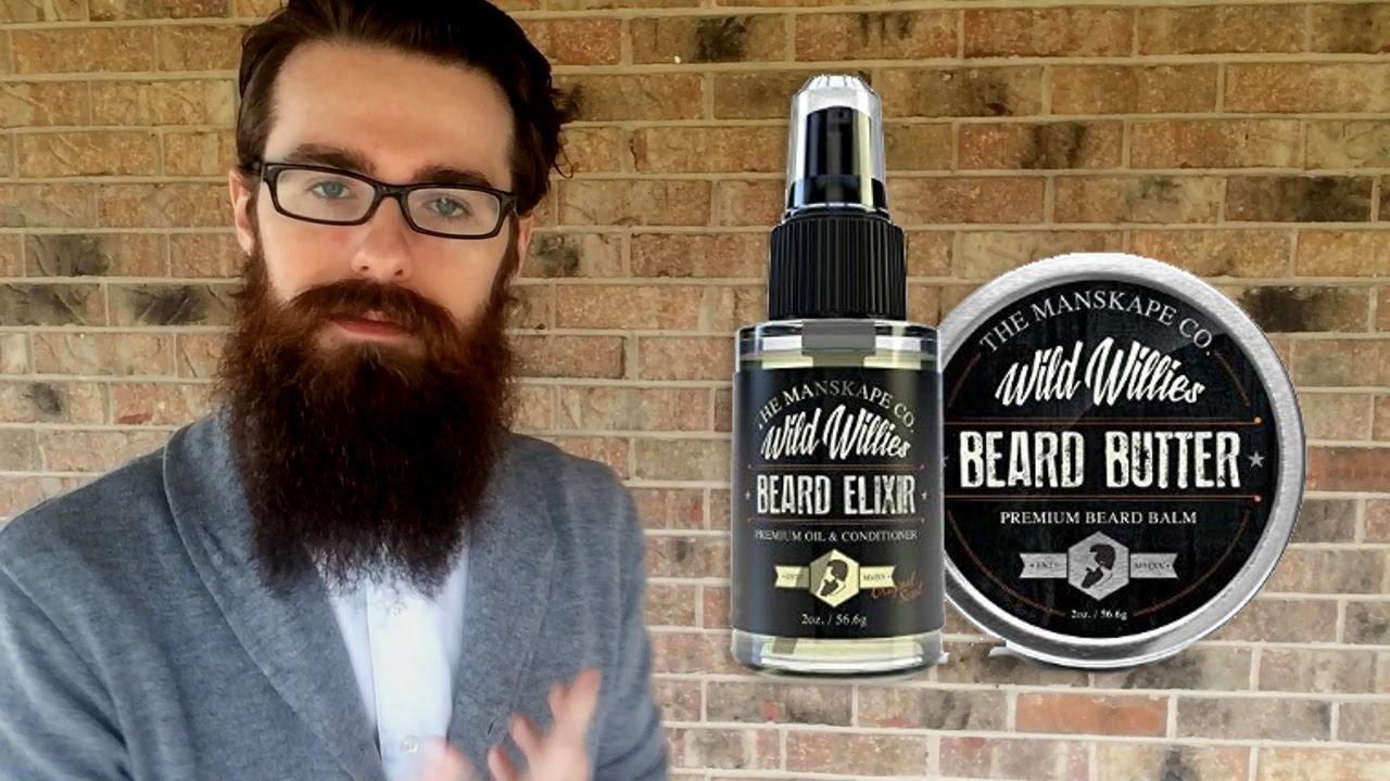 Wild Willie\'s Cool Mint Beard Oil Review - Beard Tips - YouTube