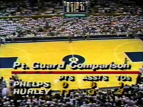 03/08/1992:  #16 North Carolina Tar Heels At #1 Duke Blue Devils