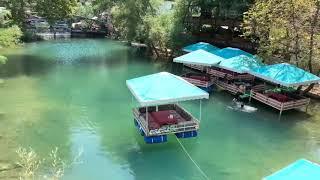 Antalya'ya Gelirseniz Yüzen Köşklerde Yemek Yemede