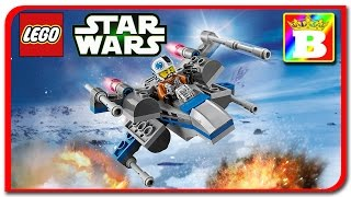 Lego Star Wars 75125 Resistance X Wing Fighter. Lego Speed Build Review at Bogdan`s Show