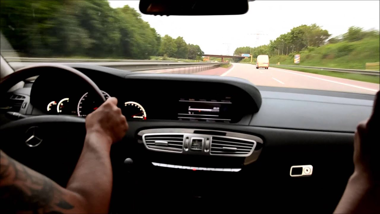 Ride Crazy Mercedes Cl 63 Amg 260 Km H German Autobahn Loud
