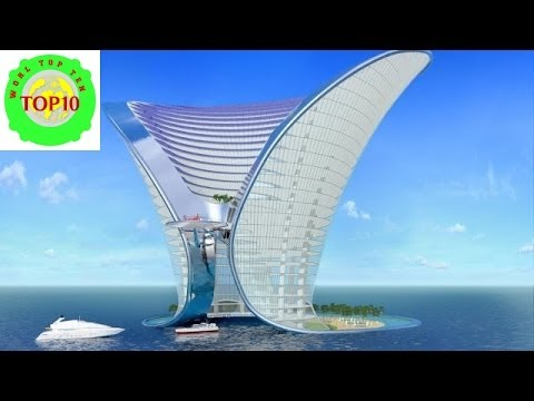 World top 10 beautiful underwater hotels youtube for Top 20 hotels in the world