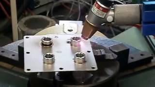 ファイバーレーザー溶接ロボット (株)第五電子工業