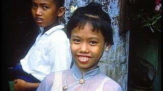 Burma, Rangoon in olden days 1959