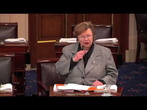 Mikulski Speaks Following Ratification as Chairwoman of Senate Appropriations Committee
