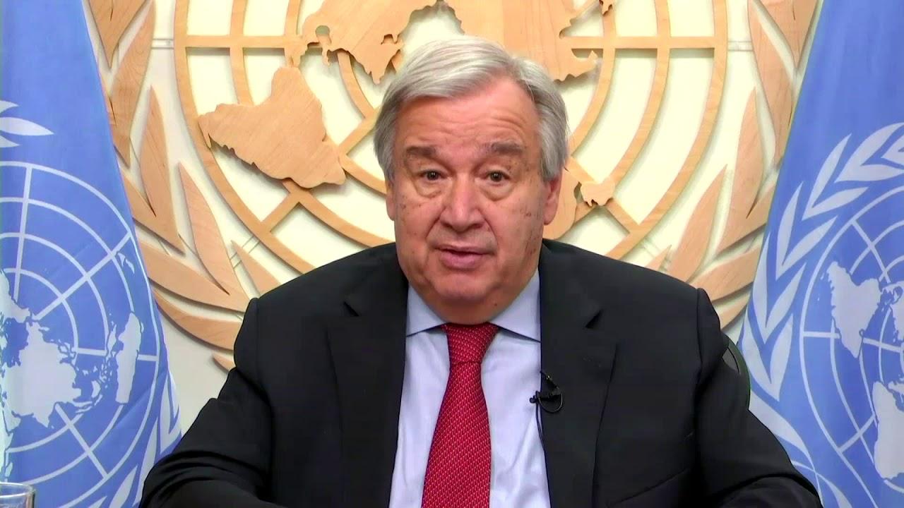 Secretary-General António Guterres video message on UNEP-ILRI Zoonotics Report