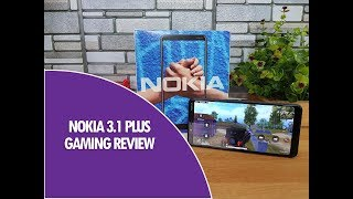 Nokia 3.1 Plus Gaming Review (Asphalt 9 and PUBG Mobile) Heating Test and Battery Drain
