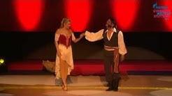 "Erich Klann und Magdalena Brzeska bei der ""enjoy your rhythm""-Gala 2014"