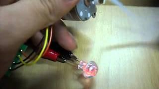미니발전기(stepping motor generator…