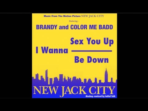 Brandy ft. Color Me Badd - I Wanna Be Down (I Wanna Sex You Up '91 Remix) @InitialTalk