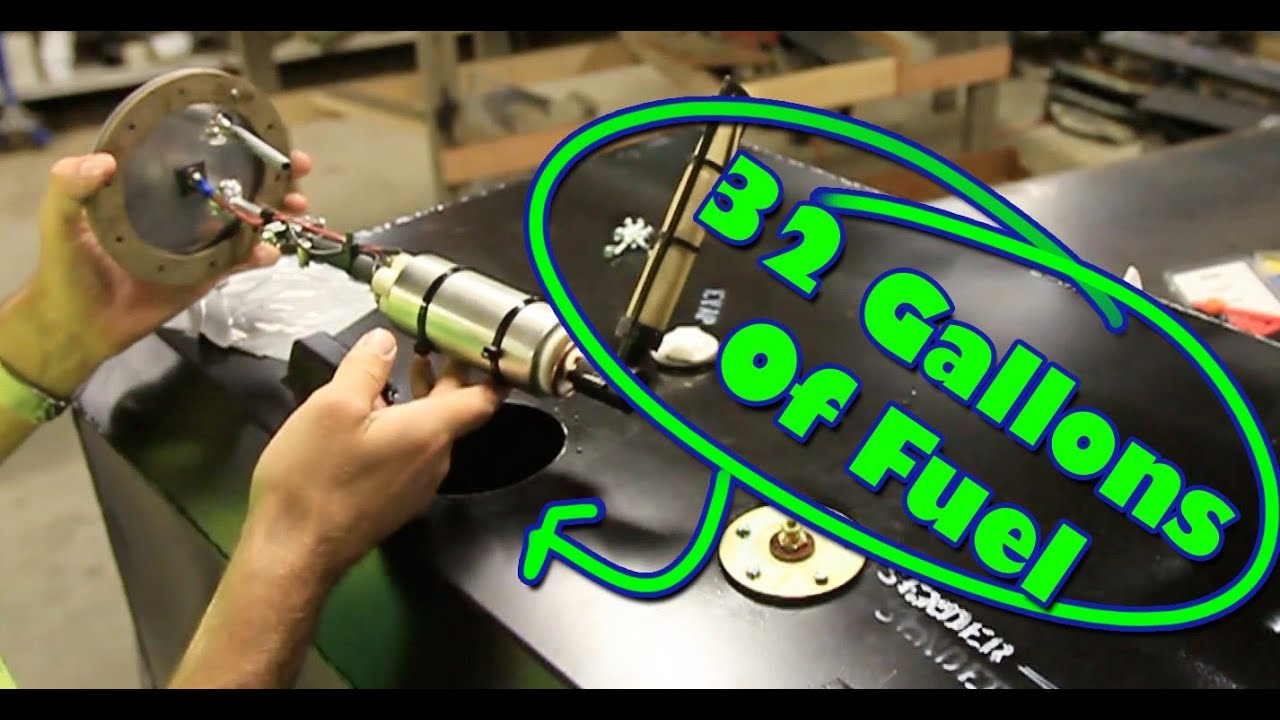 Bug Out 32 Gallon Gas Tank Install - YouTube