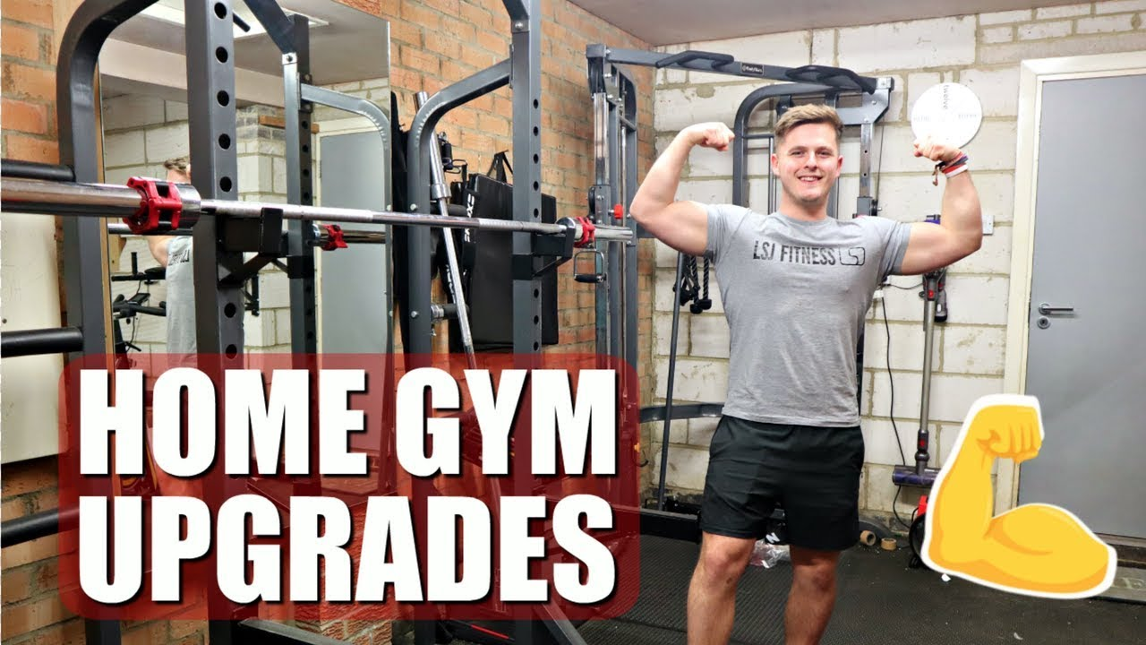 We upgraded our home gym!!! youtube