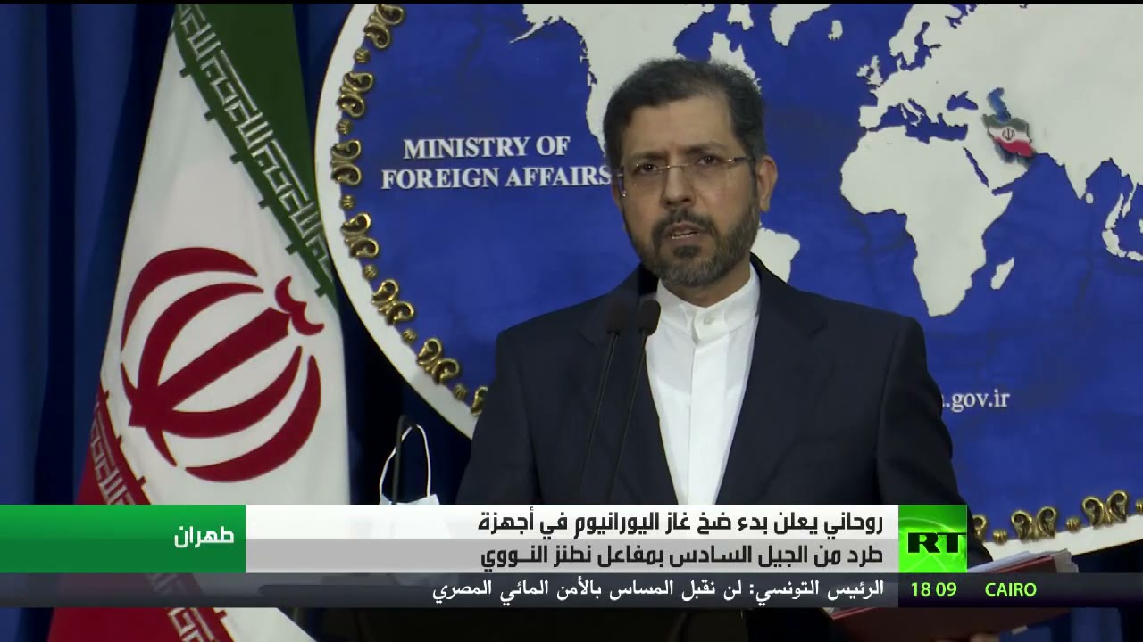 روحاني يعلن بدء ضخ غاز اليورانيوم في أجهزة طرد من الجيل السادس بمفاعل نطنز النووي  - نشر قبل 30 دقيقة