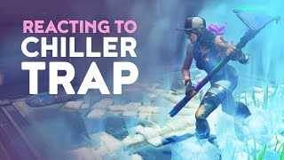 DAKOTAZ REACTING TO *NEW* CHILLER TRAP (Fortnite Battle Royale - Dakotaz)