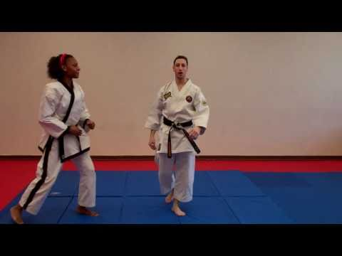 Jumping Scissors Kick - Warren Levi Karate