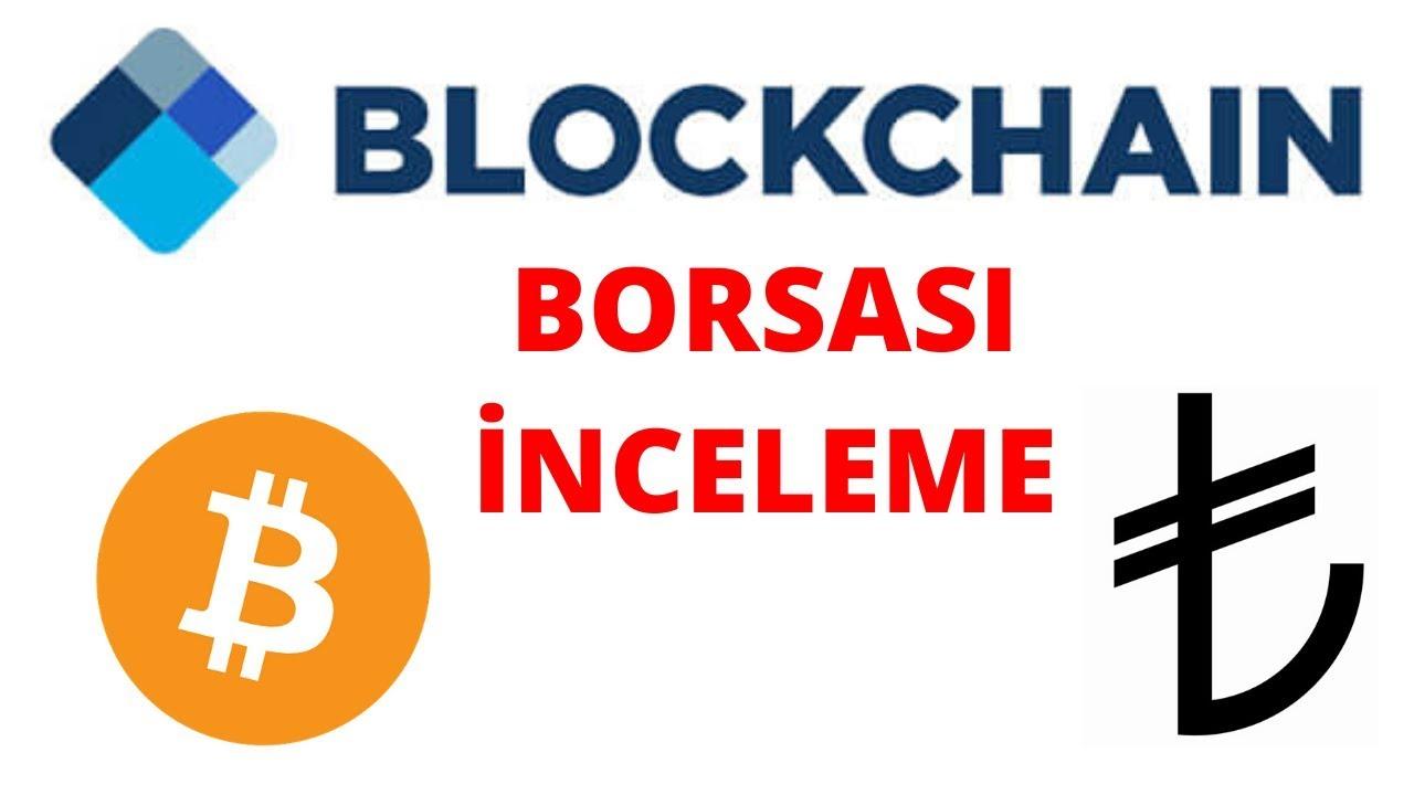 Blockchain Borsası Türk Lirası Kabul Etmeye Başladı!
