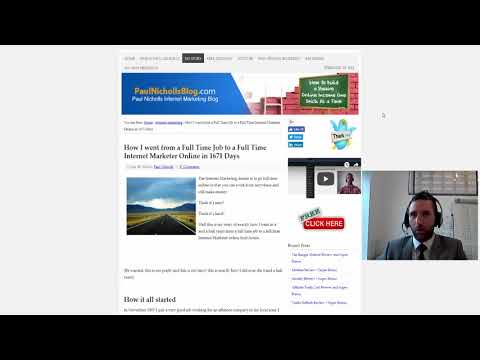 Super Affiliate Classroom Review by Paul Nicholls - Making Big Money with Tiny Traffic