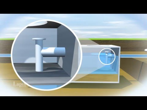 How A Septic System Works Lapin Services Youtube