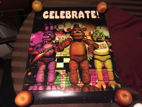 Five Nights At Freddy's Celebrate Poster
