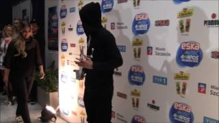 Alan Walker ścianka Eska Music Awards 2016 Szczecin 26