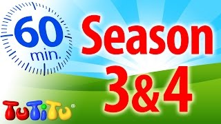 TuTiTu Specials | 1 Hour Special | Full Seasons 3&4 | Birthday Cake,  Kitchen and Lots More!