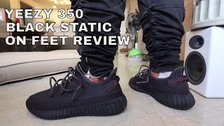 WHY THE YEEZY 350 BOOST V2 BLACK STATIC