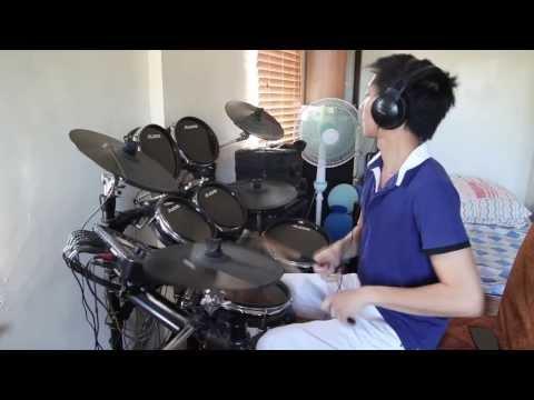 [DRUM COVER] Glowing by The Script