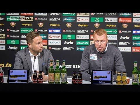 23. Spieltag | D98 - SGD | Pressekonferenz vor dem Spiel