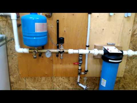 Rural water treatment set up