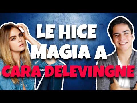 ¡CONOCÍ y le hice MAGIA a CARA DELEVINGNE! - (Estrena su película Valerian) // Armando Guru