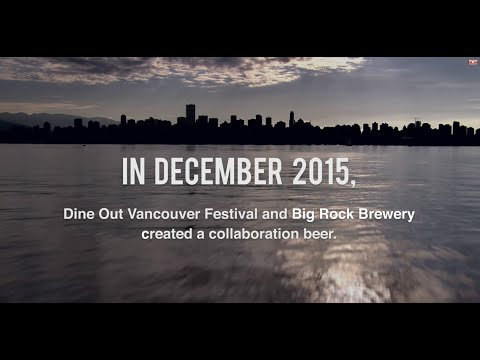 Dine Out Vancouver Festival Ale by Big Rock Brewery