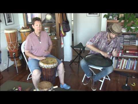 Calypso Rhythm on African drums and RAV Vast