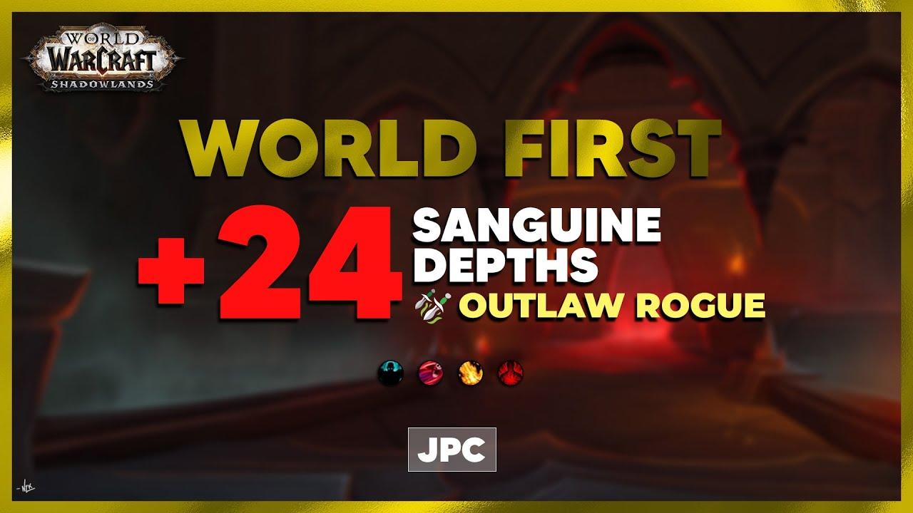 Download WORLD FIRST +24 Sanguine Depths | JPC Rogue PoV