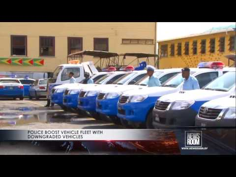 Police boost vehicle fleet with downgraded vehicles
