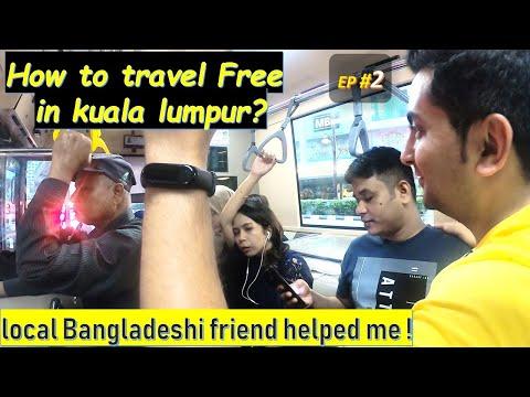 GOKL free bus & transport in Kuala Lumpur Malaysia  Best transport KL @Travel Nature Ritwick