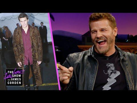 David Boreanaz Has a Major, Furry Fashion Regret