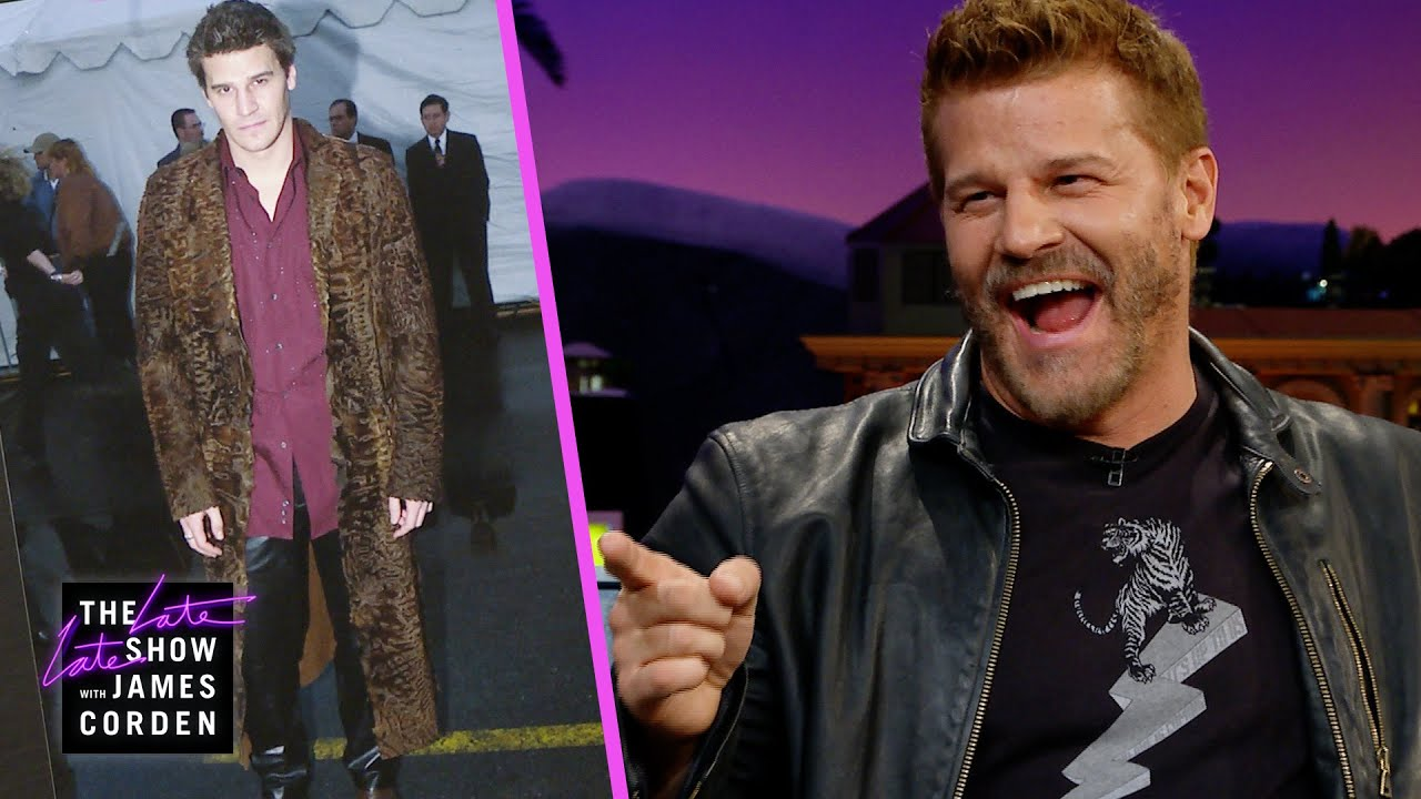 David Boreanaz Has a Major, Furry Fashion Regret