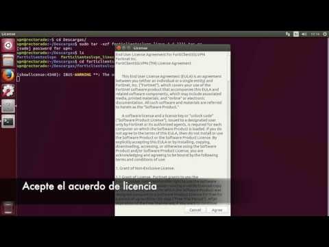 Conectarse a la VPN desde Linux
