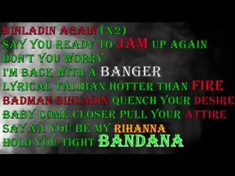 Download Badman binladin you for me lyrics vi