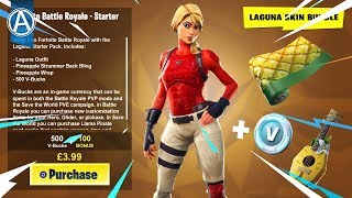 "NEW ""LAGUNA"" STARTER PACK Gameplay! (Fortnite Battle Royale LIVE)"