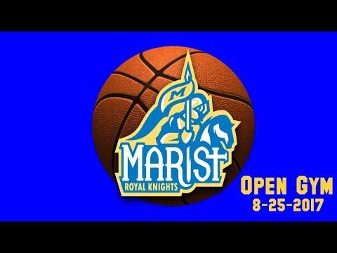 Marist High School Basketball Workout - 8-25-2017