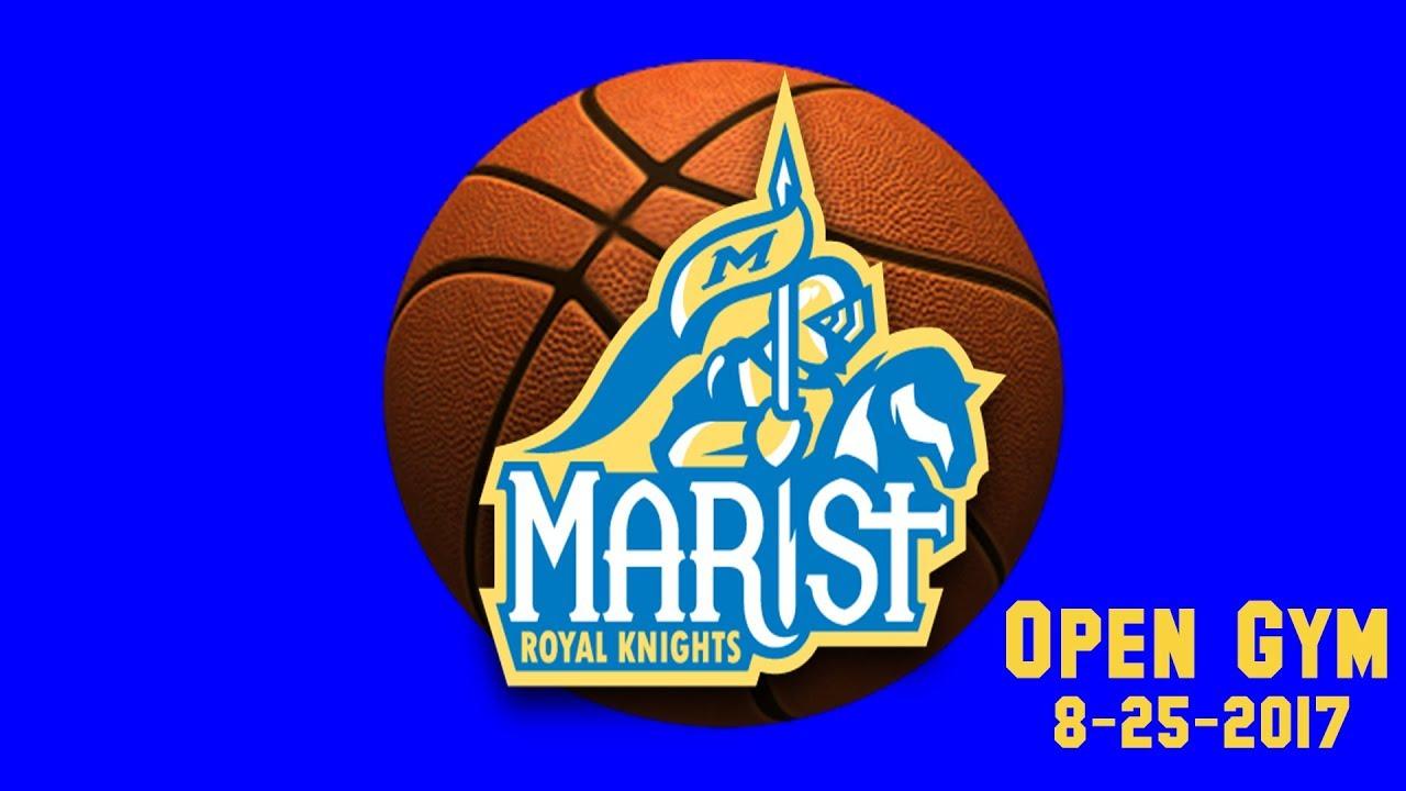 Marist High School Basketball Workout - 8-25-2017 - YouTube