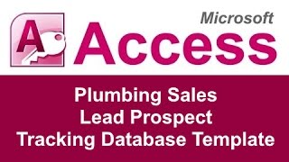 microsoft access sales pipeline template
