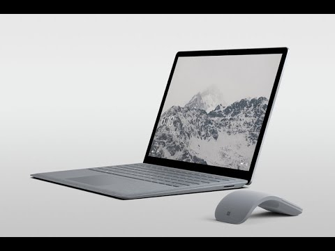 Microsoft Surface Laptop Commercial